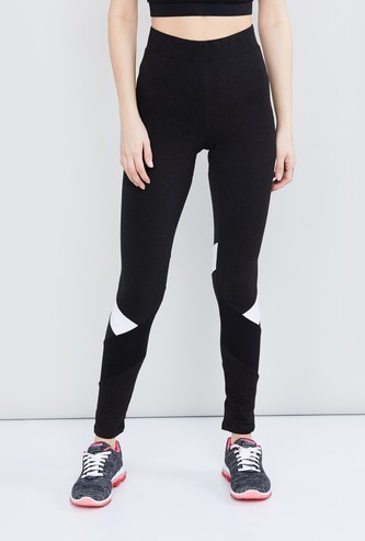 MAX Striped Full-Length Tights