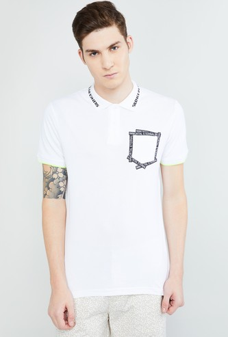 MAX Pocket Detailed Ultra Slim Fit Polo T-shirt