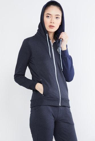 MAX Patch Print Hooded Sweatshirt