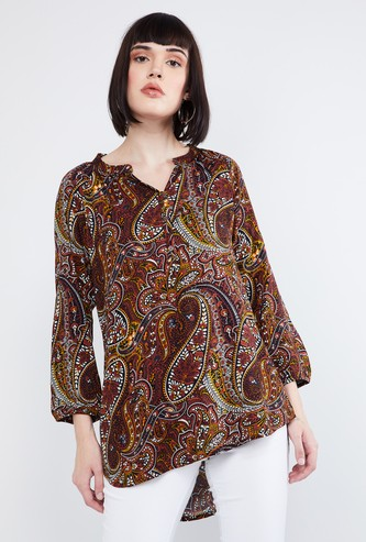 MAX Printed High-Low Tunic