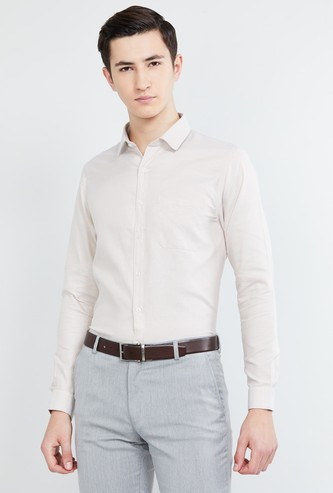 MAX Solid Slim Fit Formal Shirt