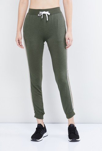 MAX Side Tape Detailed Drawstring Waist Joggers