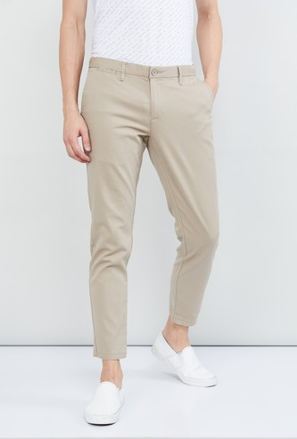 MAX Textured Skinny Fit Chinos
