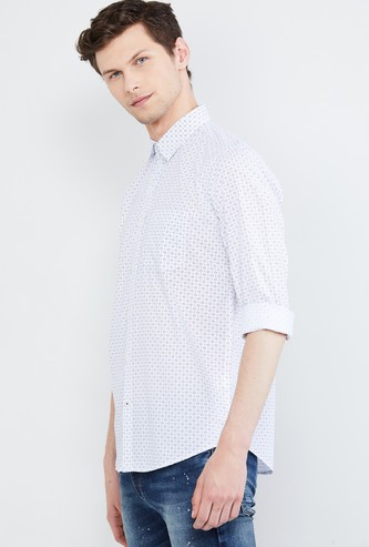 MAX Printed Regular Fit Casual Shirt