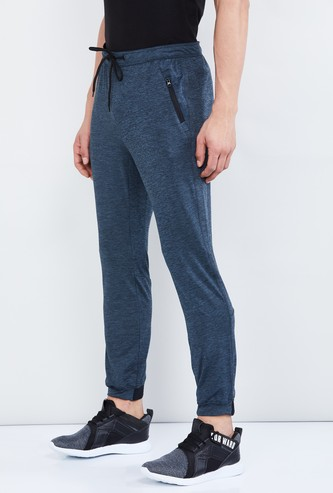 MAX Textured Joggers with Drawstring