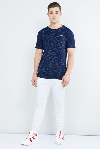 MAX Printed Short Sleeves Crew Neck T-shirt
