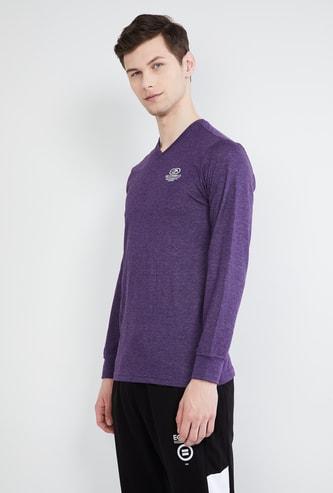 MAX Solid V-neck Sweatshirt