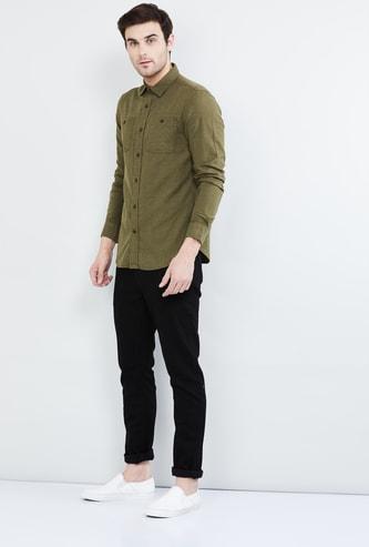 MAX Textured Casual Shirt