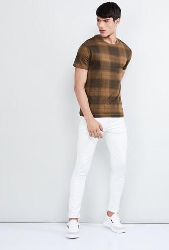 MAX Checked Short Sleeves T-shirt