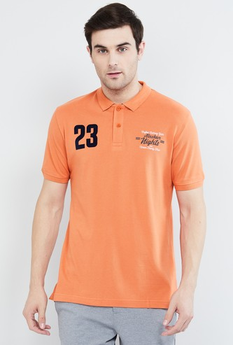 MAX Embroidered Polo T-shirt