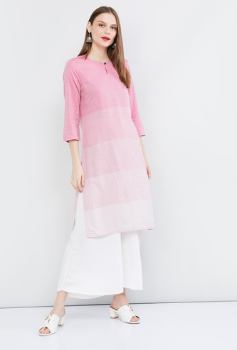 MAX Ombre Dyed Straight Kurta