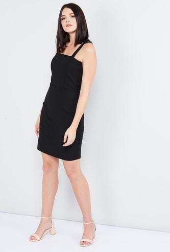 MAX Solid Sheath Dress