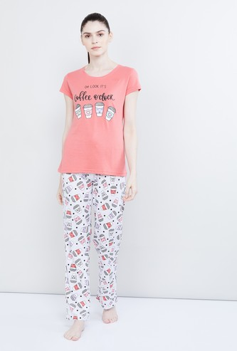 MAX Printed T-shirt and Pant