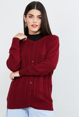 MAX Patterned Knit Sweater