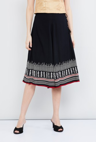MAX Printed Cropped Culottes