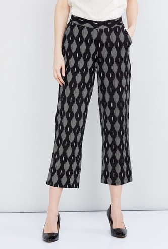 MAX Printed Cropped Pants