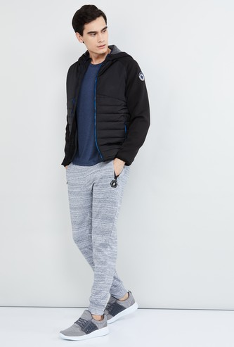MAX Quilted Zip-Closure Hooded Jacket