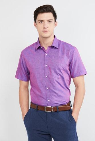 MAX Yarn-Dyed Regular Fit Formal Shirt