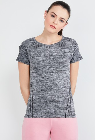 MAX Textured Cap Sleeves T-shirt