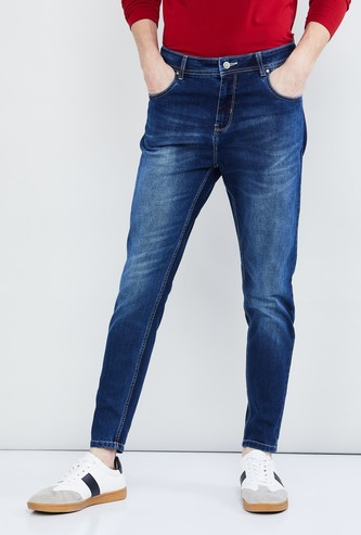 MAX Stonewashed Ultra Skinny Fit Jeans