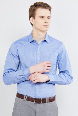 MAX Textured Regular Fit Formal Shirt