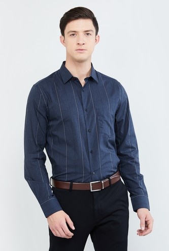 MAX Checked Slim Fit Formal Shirt