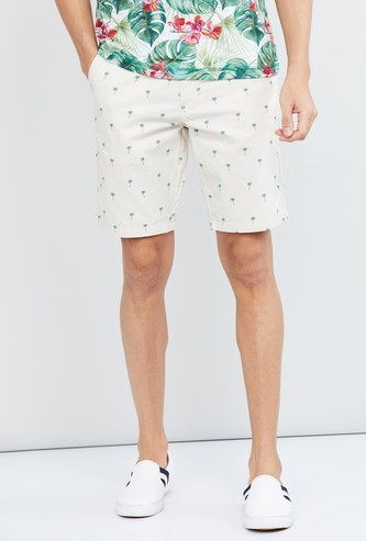 MAX Printed Low Rise City Shorts
