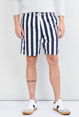 MAX Striped Elasticated Shorts
