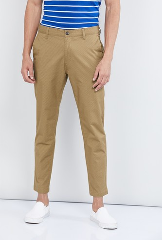 MAX Solid Carrot Fit Trousers