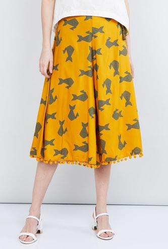 MAX Printed Elasticated Culottes
