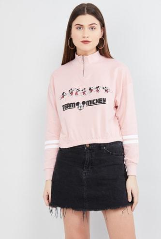 MAX Printed Long Sleeves Sweatshirt