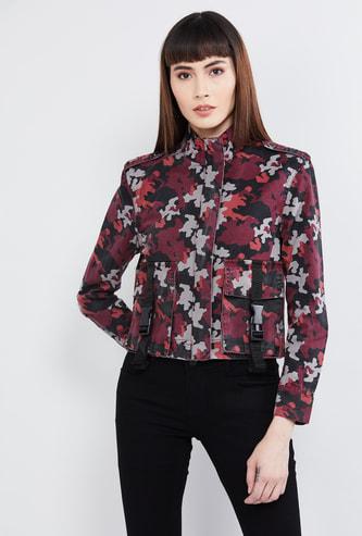 MAX Camo Print Casual Jacket