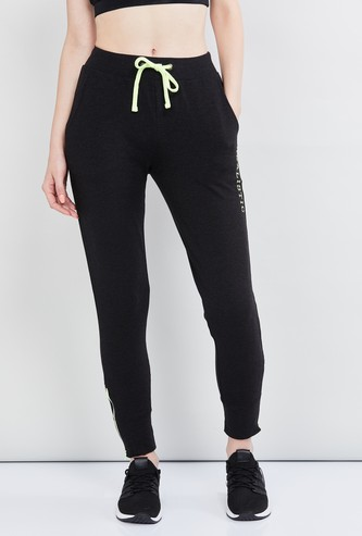 MAX Printed Joggers with Drawstring Waist
