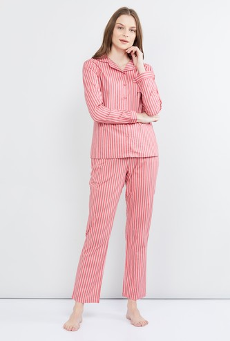 MAX Striped T-shirt and Elasticated Pants