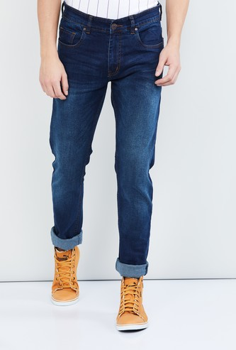 MAX Dark Washed Slim Fit Jeans