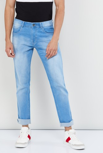 MAX Stonewashed Regular Fit Jeans