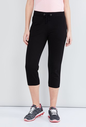 MAX Solid Knitted Capris