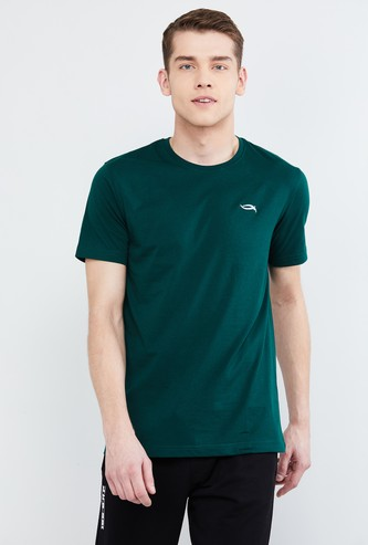 MAX Solid Regular Fit Crew Neck Lounge T-shirt