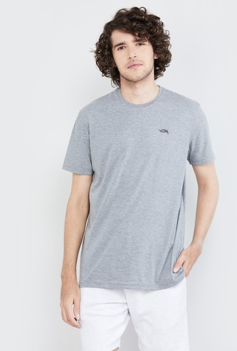 MAX Textured Crew-Neck Lounge T-shirt