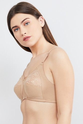 MAX Lace Overlay Non-Padded Bra