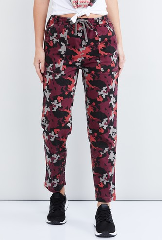 MAX Camouflage Print Elasticated Track Pants