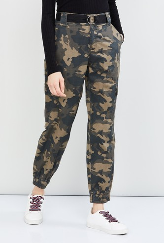 MAX Camouflage Print Trousers