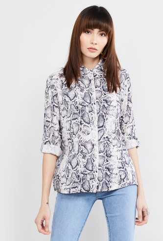 MAX Printed Long Sleeves Shirt