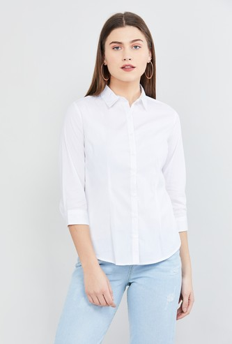MAX Solid Regular Fit Shirt