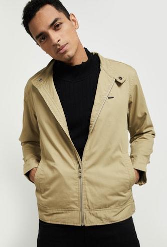 MAX Solid Full-Sleeves Jacket