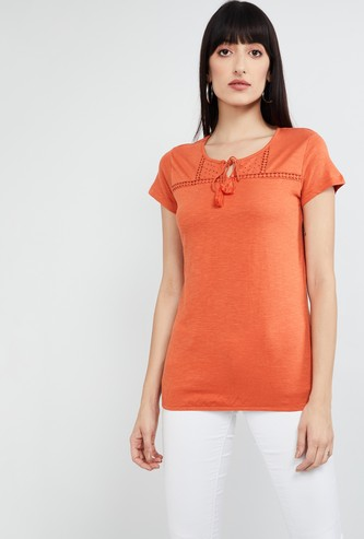 MAX Solid Cap Sleeves Top