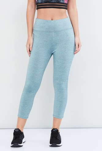 MAX Heathered Cropped Tights