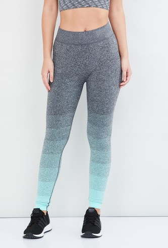 MAX Ombre-Dyed Heathered Track Pants