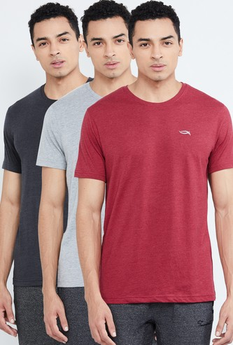 MAX Solid Crew Neck T-shirt - Set of 3 Pcs.