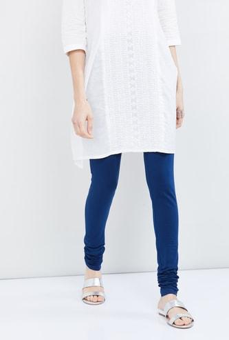 MAX Solid Knitted Churidar
